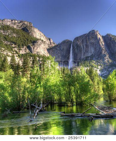 Hdr Of Yosemite Falls