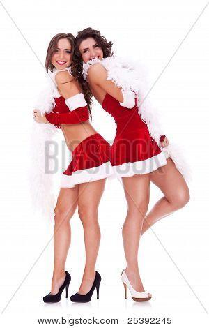 Back To Back Santa Women