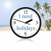 I need holidays