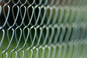picture of chain link fence  - Chain link fence background - JPG