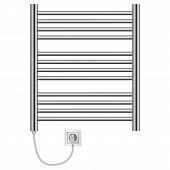 Domestic Heater Mockup. Realistic Illustration Of Domestic Heater Mockup For Web poster