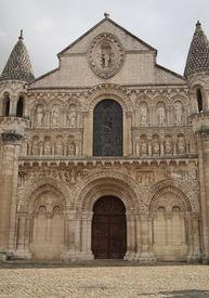 pic of poitiers  - Notre Dame la Grande Poitiers France - JPG
