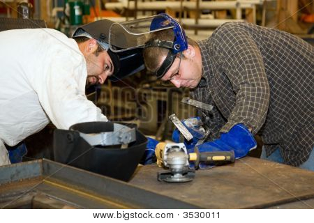 Welders Teamwork