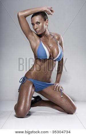 Bikini Fashion Model