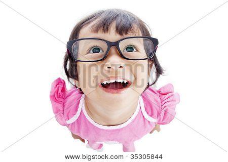 Funny Female Preschooler