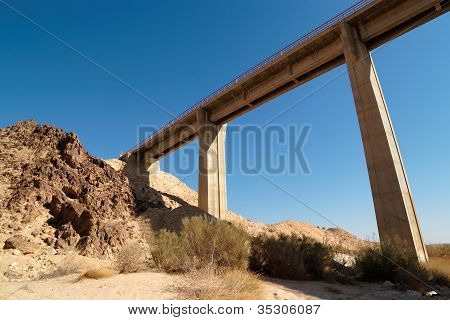 Bridge in the desert