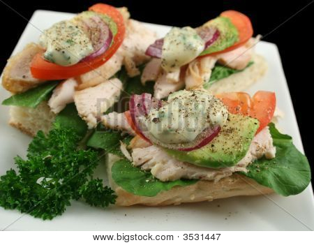 Chicjen Finger Sandwiches