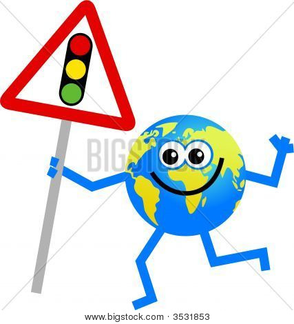 Traffic Lights Globe