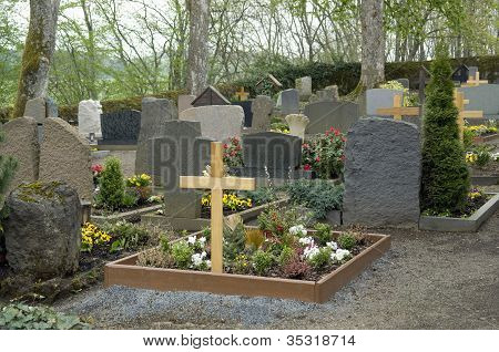 Graveyard In The Vulkan Eifel