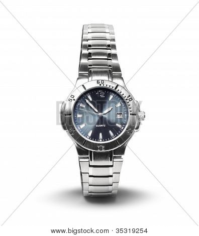 Men's Wrist Watch Isolated