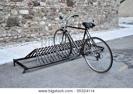 Old Black Bicycle