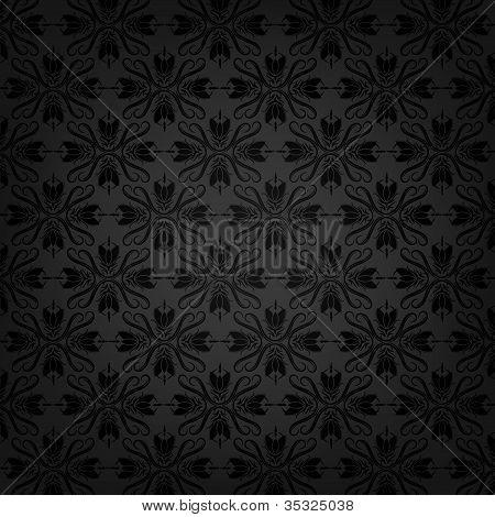 Floral vector texture