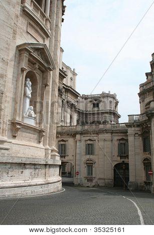 Vatican City Street - One-way road