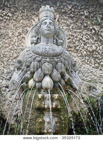 Diosa Diana Fountain