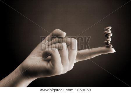 Bean Counter - Female Hand