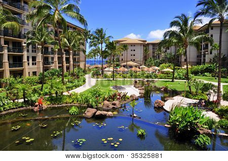 Kaanapali luxury hotel