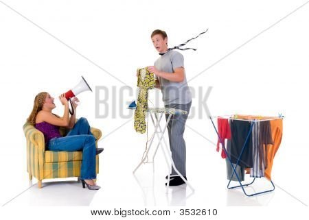 Household, Ironing