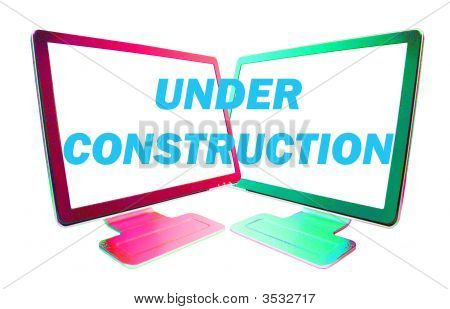 Under Construction Message-B