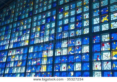 Stained glass window - mosque