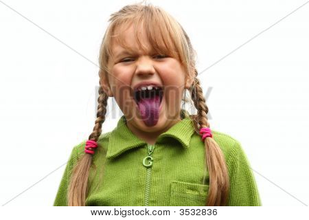 Tongue After Bilberries