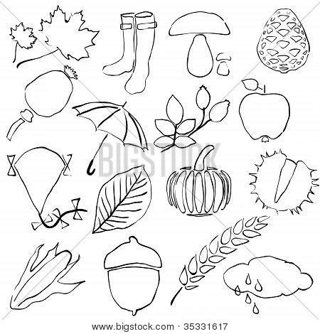 Doodle Autumn Images