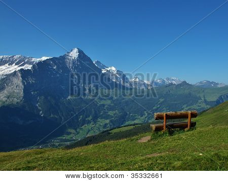 View Of The Eiger
