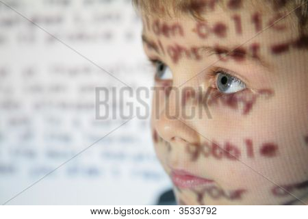 Little Child An Text Projection Device