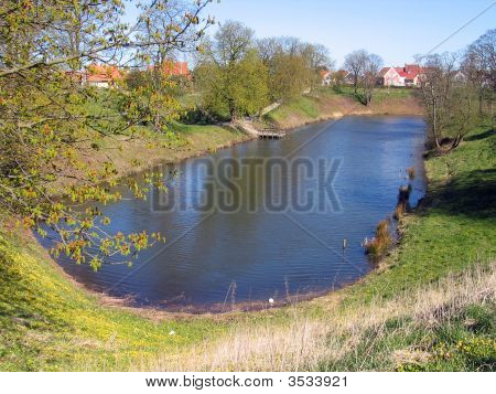 Water Canals Fredericia Denmark