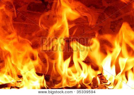 Grandes llamas