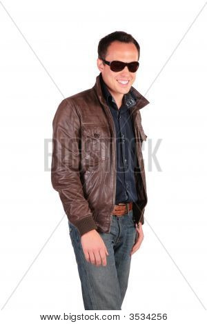 Smiling Man In Sunglasses