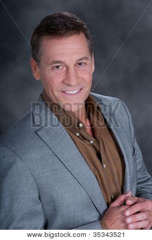 Man in  a Jacket