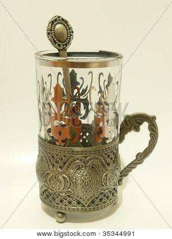 Tea cups, coffee mugs with spoon