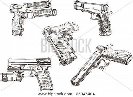 Gun Sketches