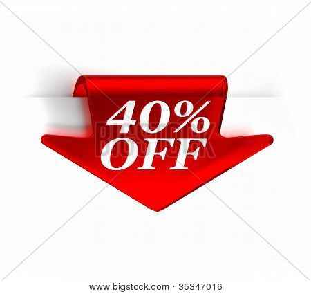 Fourty Percent Off