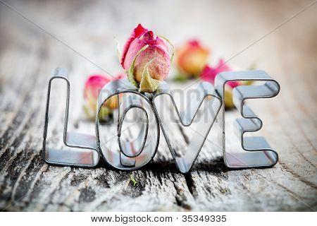 Cortador de la galleta de amor