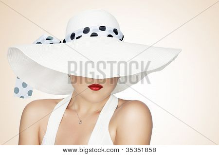in hat