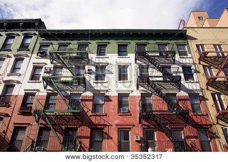 Patriotic facade