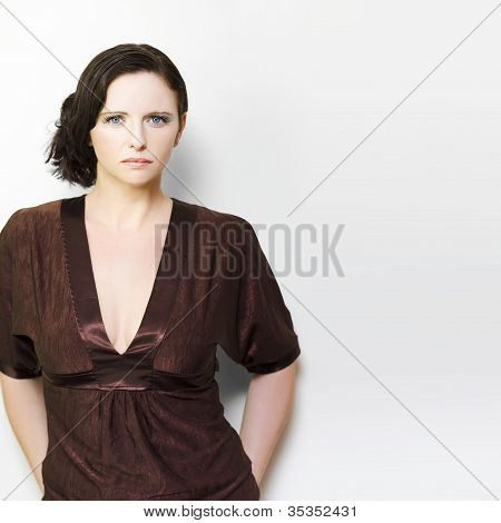 Unhappy Woman Concept