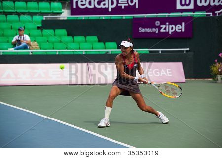 Kimiko Date-krumm Backhand Return