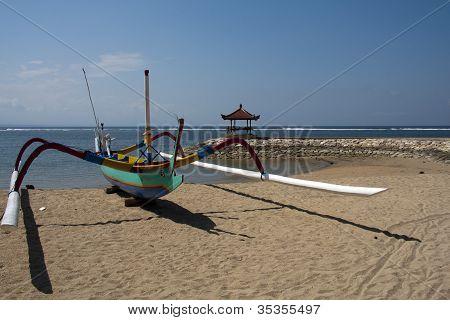 Fishing boat Sanur Bali