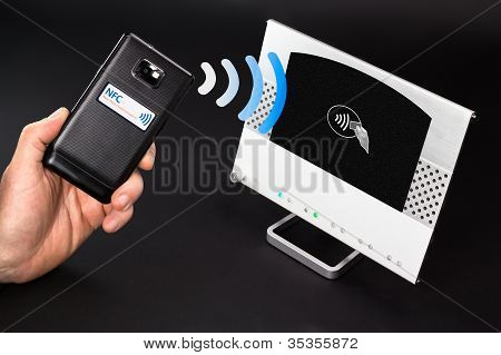 NFC - Near Field Communication móvel pagamento