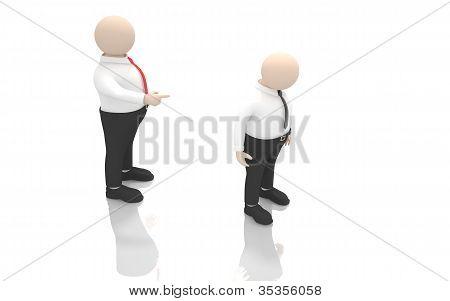 Office scenes (dismissal)