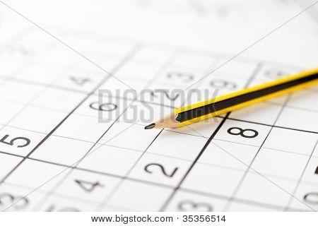Pencil on Sudoku