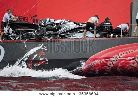 Clearing The Bow On Puma
