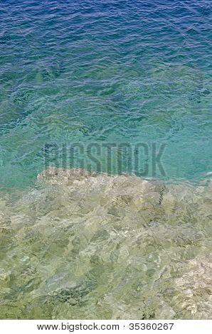 Rock And Clear Water
