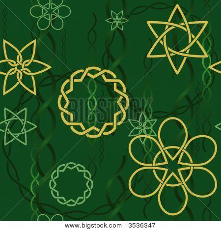 Celtic Background Spring