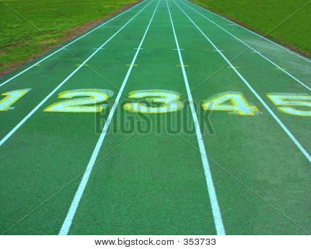 Running Track Lanes.