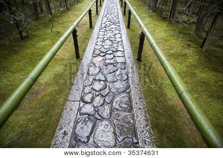 Zen Temple Path