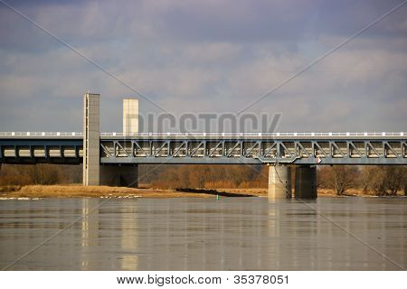 The trough bridge