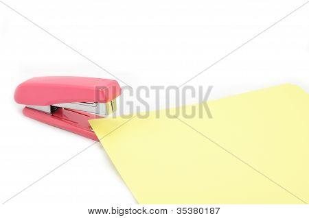 Stapler paper